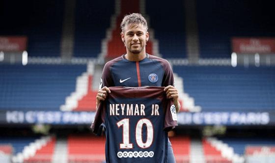 Presentan a Neymar en el PSG