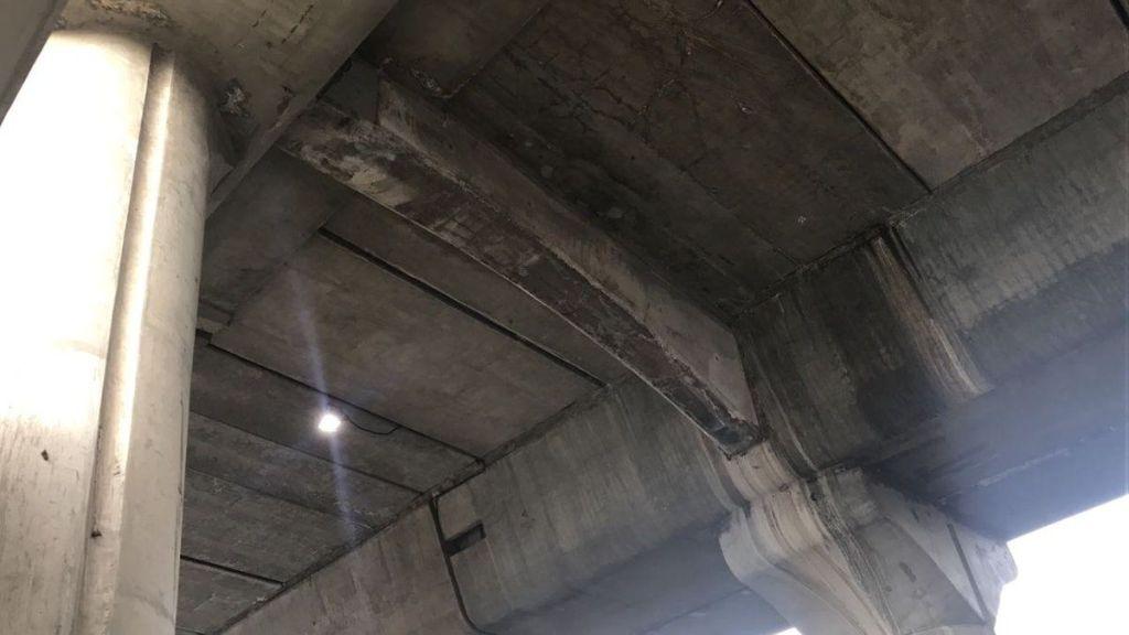 Revisarán Periférico para descartar nueva caída de estructura - Foto de Twitter @cesar_rv2