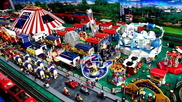 Escenarios de Playmobil en dos museos de la CDMX - Foto de Pulso DF