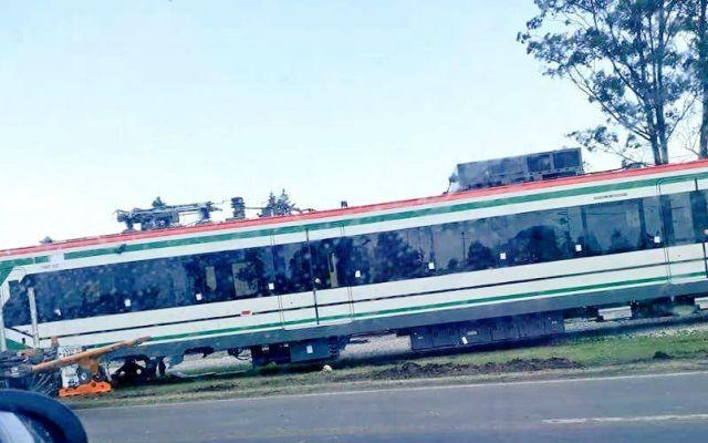 ¿Qué pasó con el vagón del tren interurbano? - Foto de Alertas Urbanes