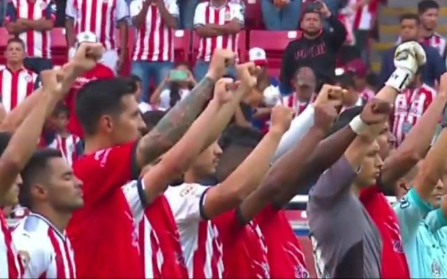 Lobos BUAP derrota a Chivas en primer partido de Liga MX tras sismo - Captura de Pantalla