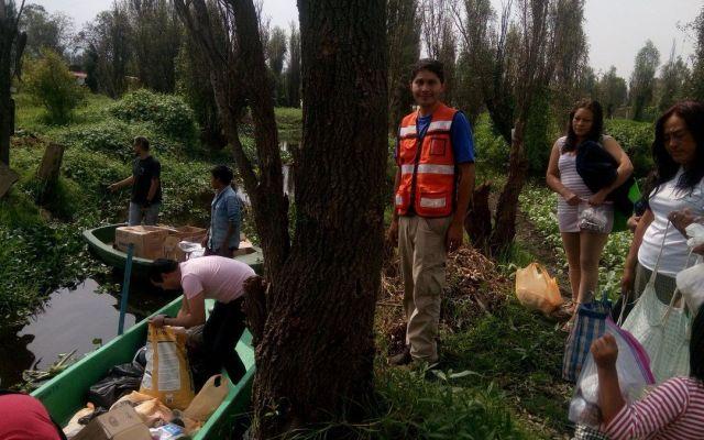 Sismo afectó zona chinampera de Xochimilco: Campesinos - Foto de @Zenaida81007746