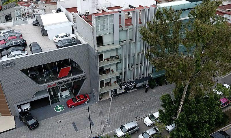 Red de prestanombres de Duarte maneja edificio de lujo en Masaryk - Foto de Mexicanos Contra la Corrupción