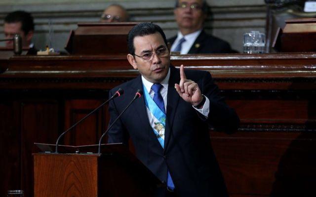 Avala corte de Guatemala proceso de desafuero del presidente Jimmy Morales - Foto de Internet