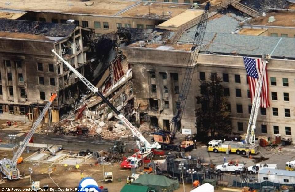 Departamento de Defensa de EE.UU. publica fotos del 11 de septiembre - Foto de Air Force