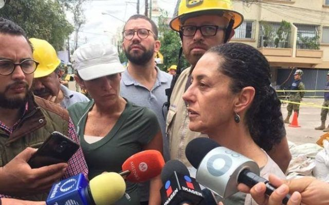 Acusan a Sheinbaum de tener miedo de transparentar caso Rébsamen - Claudia Sheinbaum. Foto de Diana Jiménez