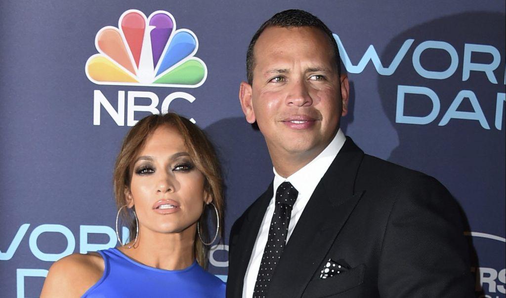 J.Lo, Marc Anthony y Alex Rodriguez recaudan 35 mdd para Puerto Rico - Jennifer Lopez y Alex Rodriguez llegan a la Celebración