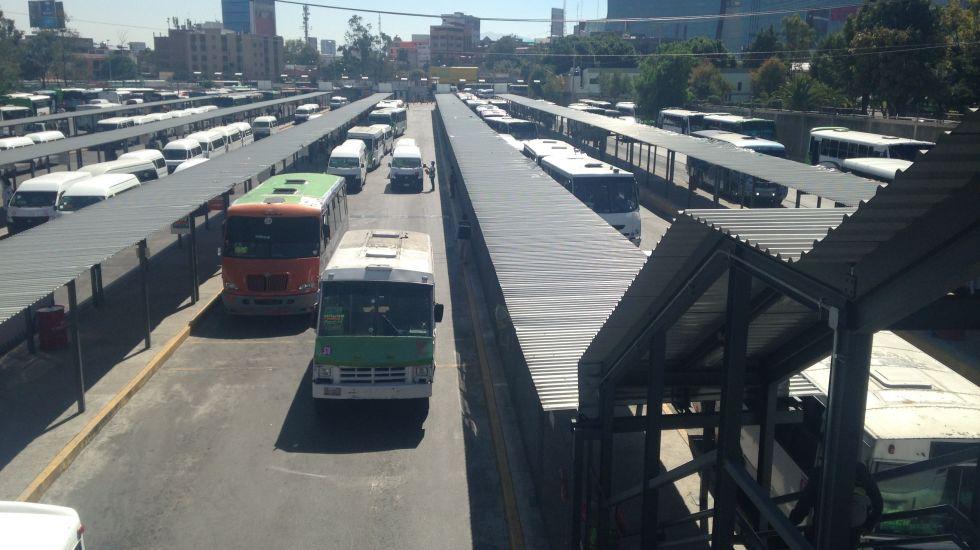 Disparan a policía en inmediaciones del Metro Cuatro Caminos - Foto de internet