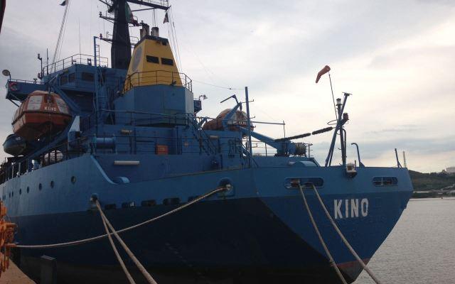 Llega buque de la Marina con 117 toneladas de ayuda a Oaxaca - Foto de SEMAR