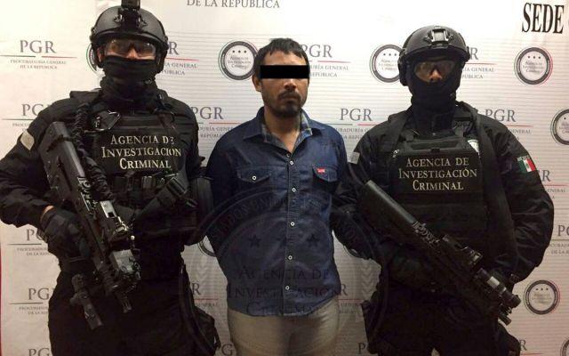 Detienen a 'El Tricoy' en Quintana Roo por secuestro agravado - Foto de PGR