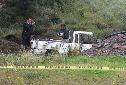 Encuentran a dos cadáveres calcinados en La Marquesa - Foto de Milenio