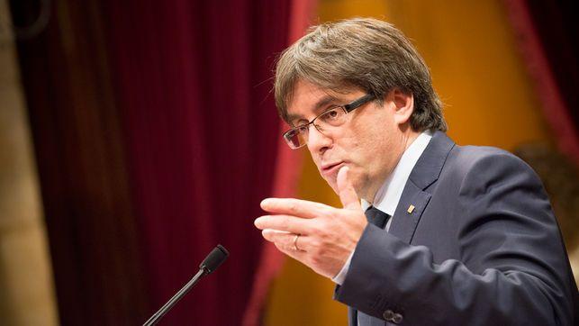 Puigdemont no aceptará implementación de artículo 155 - Carles Puigdemont. Foto de El Diario