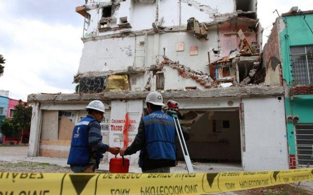 Inician hoy demolición de edificio en la colonia Narvarte - Foto de Notimex