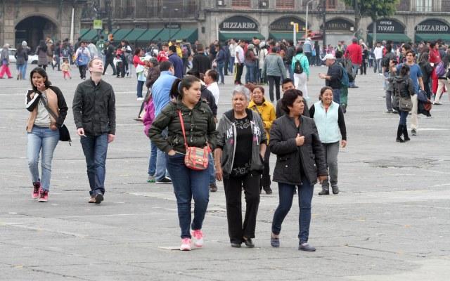 Se esperan temperaturas de 0º C en la Ciudad de México - Foto de NOTIMEX/CARLOS