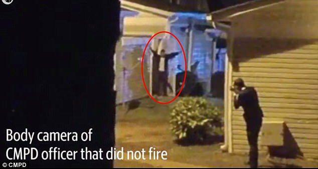 #Video Policía mata a latino con las manos arriba
