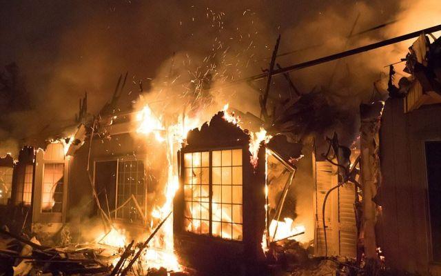 """""""Parece que hubiera caído una bomba"""": afectado por incendio en California - Foto de Shutterstock"""