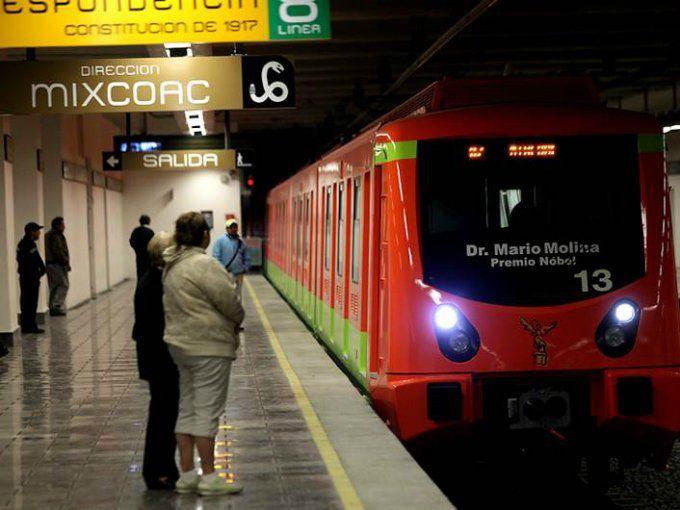 Sismo deja daños en dos Líneas del Metro - Foto de Internet