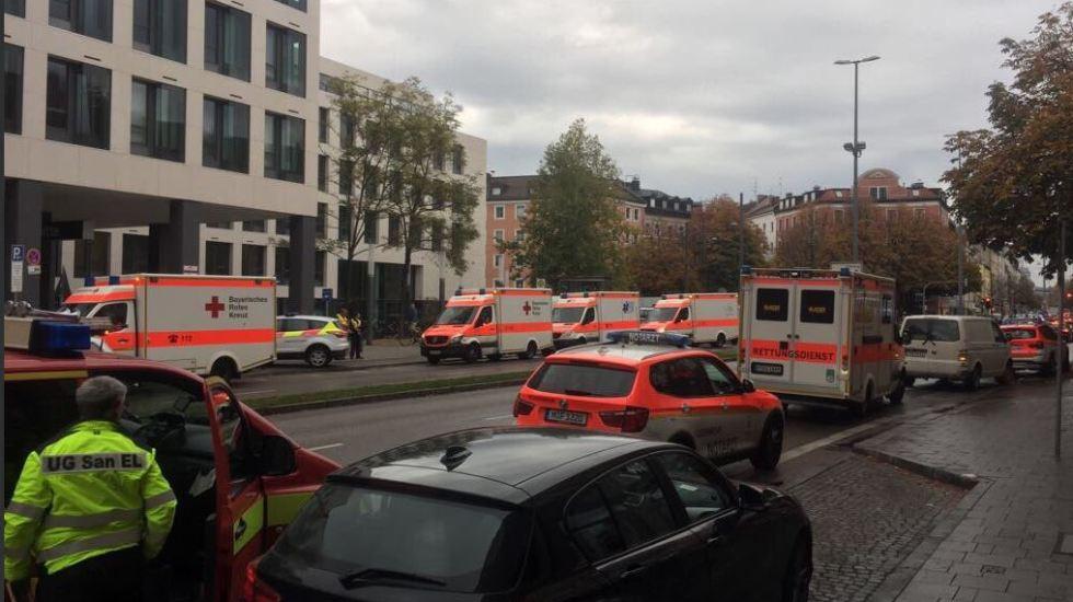 Detienen a hombre que acuchilló a cuatro en Múnich
