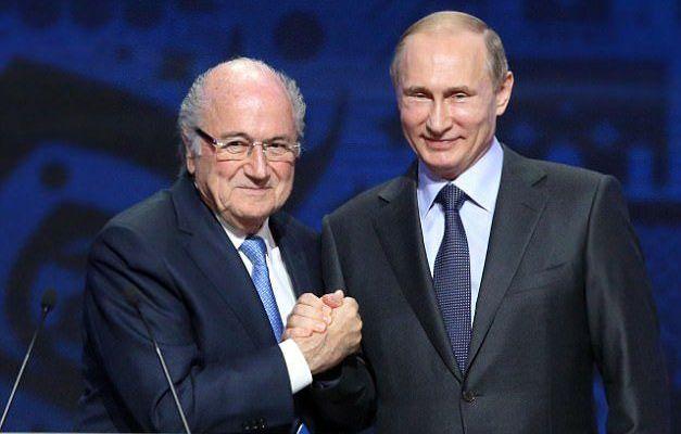 Putin invita a Blatter al Mundial pese a suspensión - Foto de Getty