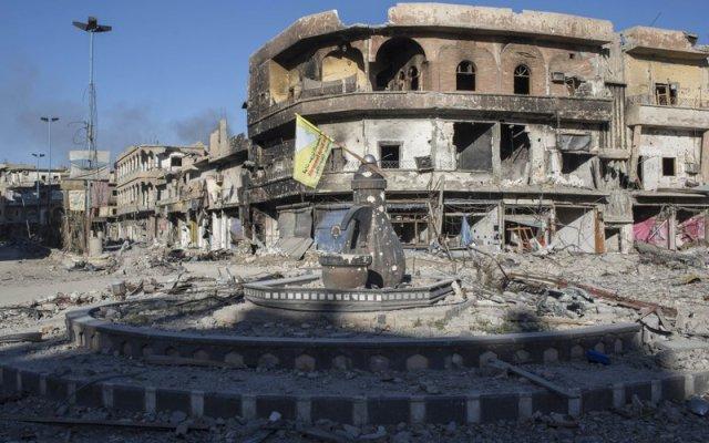 Así luce Al Raqa tras la batalla contra el Estado Islámico - Foto de AP/Asmaa Waguih