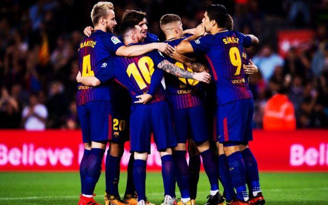 Triunfo del Barcelona con polémico gol - Foto de Twitter