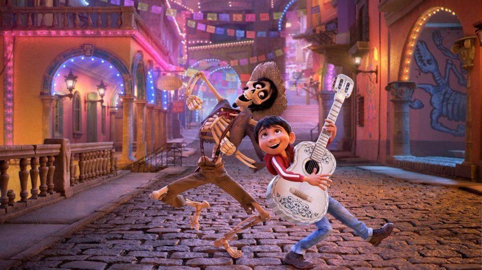 'Coco' se convierte en la película animada más vista de la historia en México - Foto de Disney