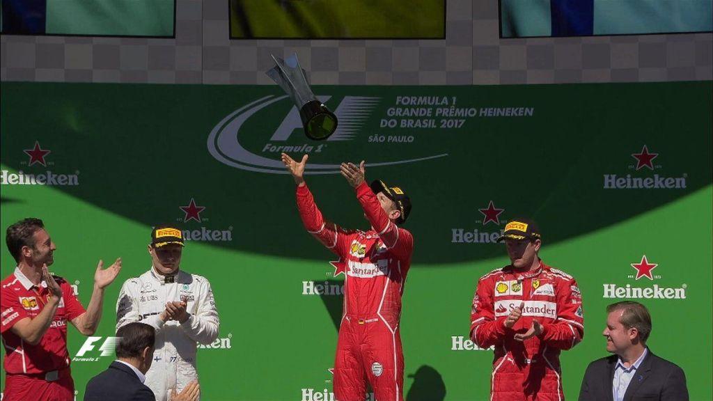 Vettel gana el Gran Premio de Brazil - Foto de @F1
