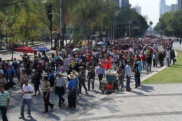 Marcha complicará la vialidad en la Ciudad de México - Foto de Internet