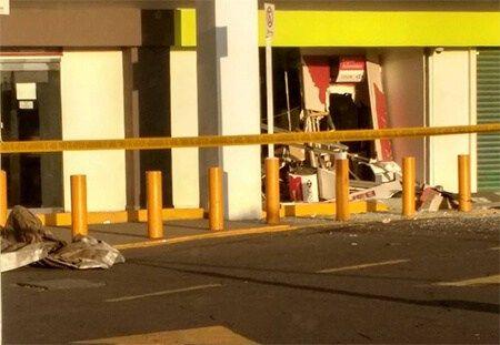Roban y queman cajeros en Ecatepec - Foto de Denuncia Ecatepec