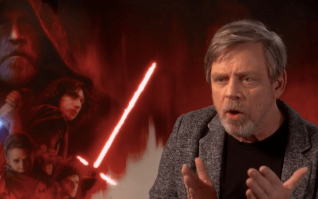 """Ese ya no es mi Luke Skywalker"": Mark Hamill"