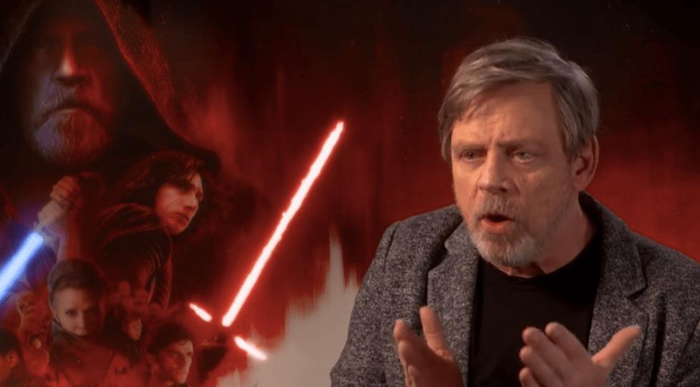 """Ese ya no es mi Luke Skywalker"": Mark Hamill"