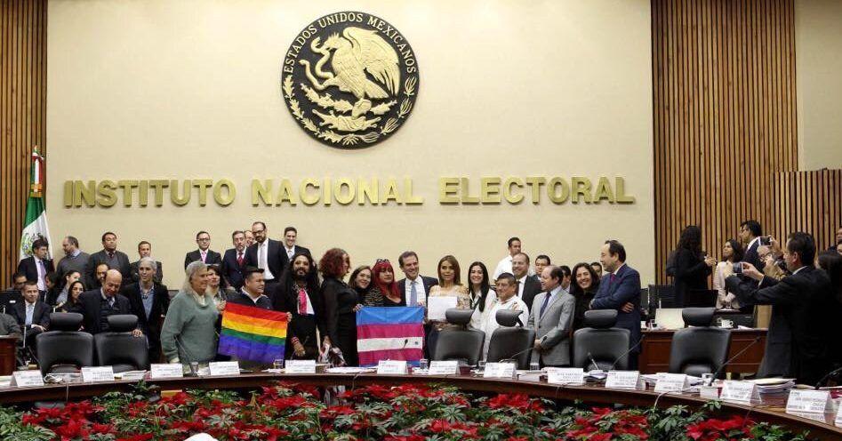 Ciudadanos transgénero podrán votar en 2018: INE - Foto de INE