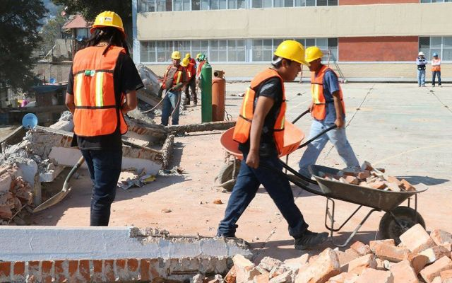 Reconstrucción de escuelas en CDMX terminará en seis meses: Inifed - Foto de Quadratín