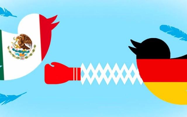 Guerra en Twitter entre la Selección Mexicana y la Alemana