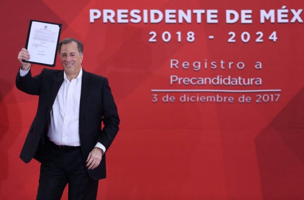 José Antonio Meade, precandidato presidencial del PRI