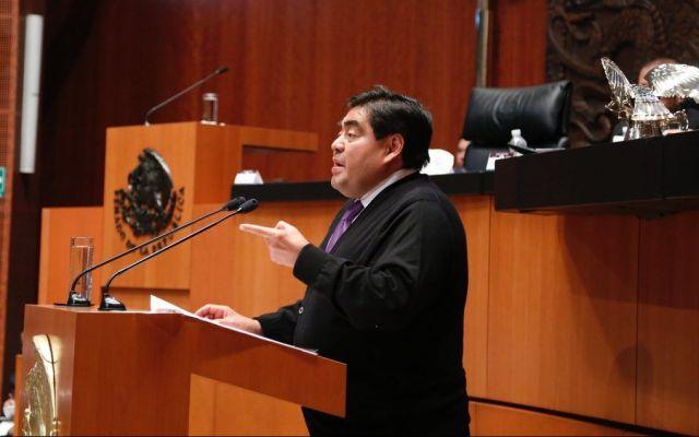Barbosa pide no aplicar Ley de Seguridad Interior en elecciones - Foto de @MBarbosaMX