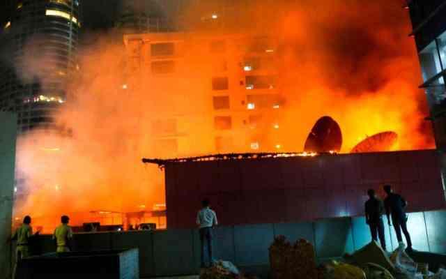 Incendio en centro comercial de Mumbai deja 15 muertos - Foto de Internet