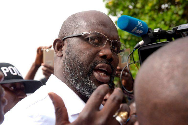 George Weah gana las elecciones en Liberia - Foto de The New York Times