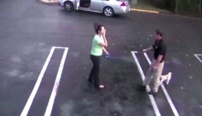 #Video Policía dispara a su ex novia y se suicida