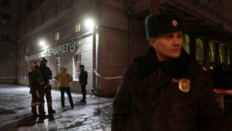 Detienen al autor de ataque terrorista en San Petersburgo