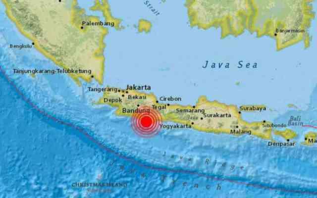 Sismo de 6.5 sacude Indonesia
