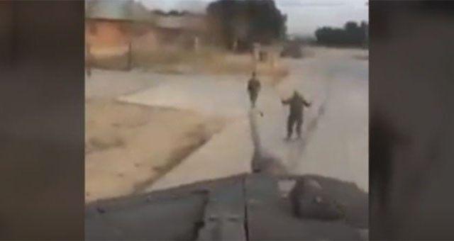 #Video Hombre amenaza a Puidgemont con un tanque - Foto de Internet