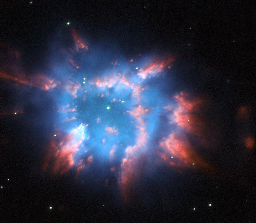 La imagen de Navidad que compartió la NASA - Foto de @NASAHubble