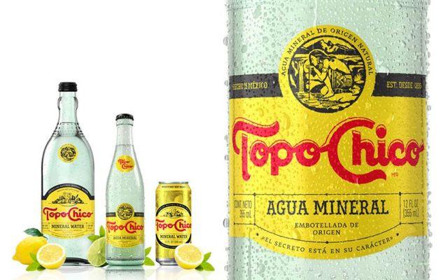 Agua mineral Topo Chico llegará a todo el país - Foto de Internet