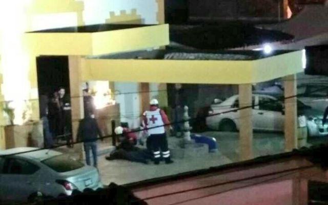 Balacera en bar de Xalapa deja dos muertos - Foto de Noticieros Televisa