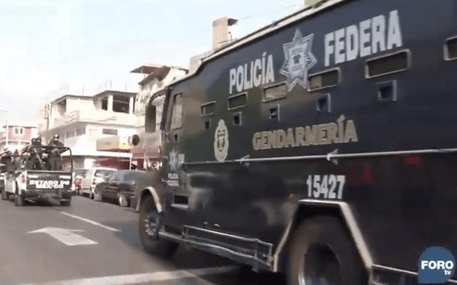 Trasladan a Borge a penal de Morelos - Captura de pantalla