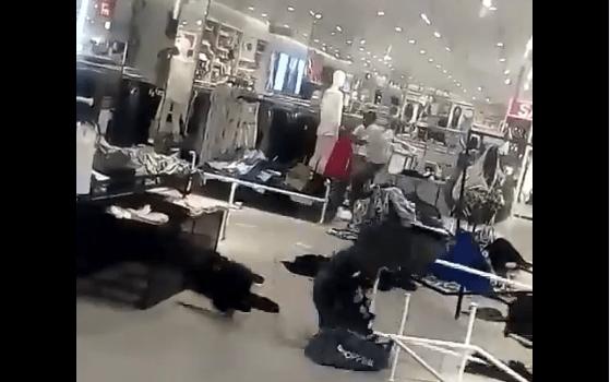 #VIDEO Vandalizan tiendas H&M en África