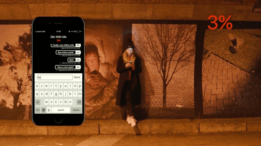 Crean app para chatear con teléfonos apunto de descargarse - Foto de Die With Me