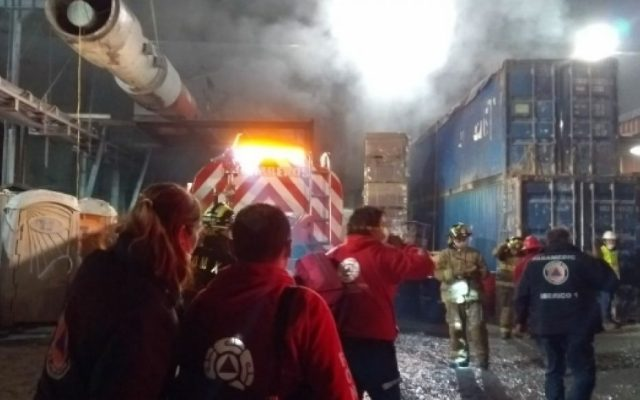 Incendio Tren Interurbano