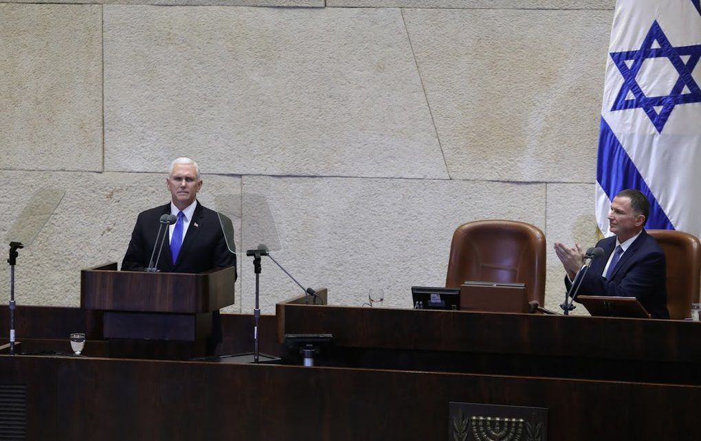 Embajada de EE.UU. en Jerusalén abrirá en 2019: Pence - Foto de @JewishVoice